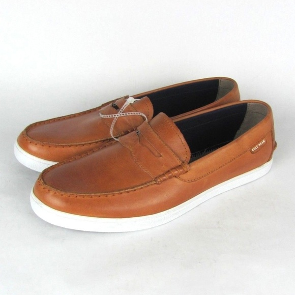 eb0c0816aa5 COLE HAAN Nantucket Leather Acorn Loafers 11.5